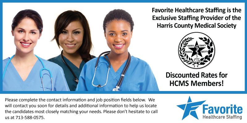 Harris County Medical Society Member - Job Request Entry Form